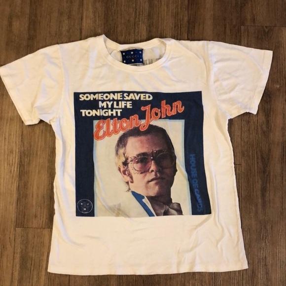 83d134ba68c1 Gucci Tops | Elton John Tshirt | Poshmark